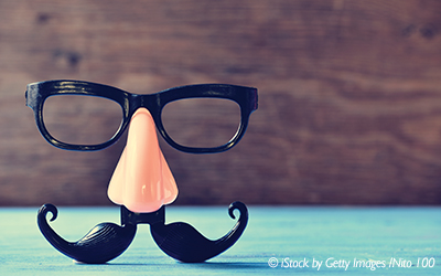 fake mustache with nose and glasses