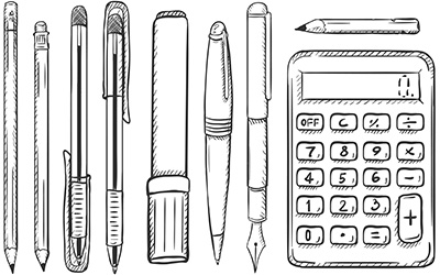 Pencil-Pen-Calculator-Array-blog-horizontal-400x250