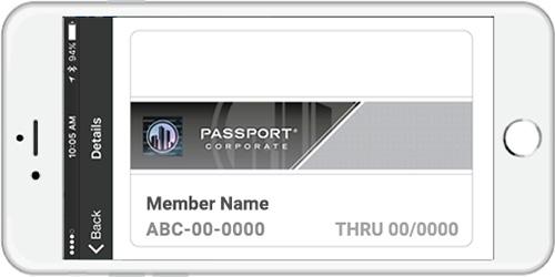 Sample WSCPA Passport Mobile Card