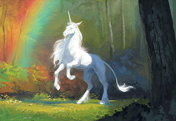 Here be unicorns